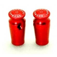 Cappucci misura L alluminio ROSSI per interruttori TX (2 pz)