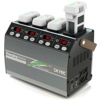 4P3 Caricabatterie Per Phantom 3 e 4 (4 uscite) 220V