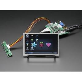 HDMI 4 Pi 5 Display no Touchscreen 800x480 - HDMI/VGA/NTSC/PAL
