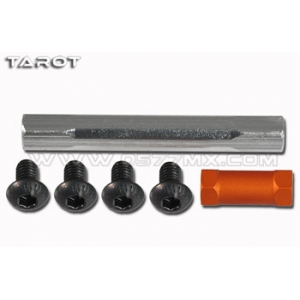 Colonnine in alluminio 35mm + 12mm