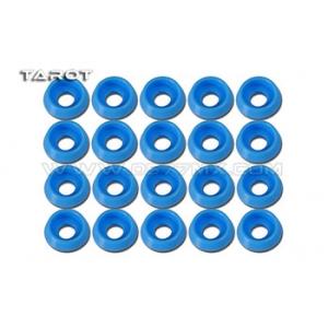 Rondelle ad incasso 3mm 20 pz blu