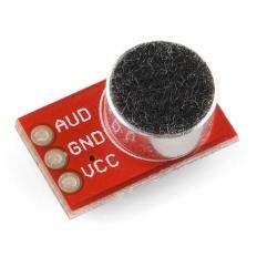 Capsula microfono amplificata