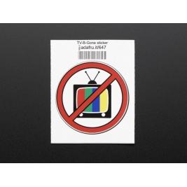 TV-B-Gone - Sticker!