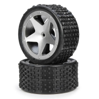 High speed Buggy 2WD 2.4Ghz 1/12 - gomme posteriori