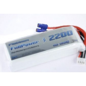 Batteria Lipo 4S 2200mAh 35C Silver V2 - EC3