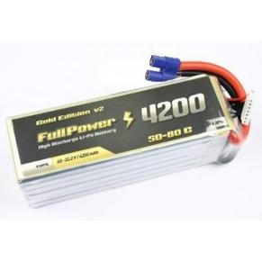 Batteria Lipo 6S 4200mAh 50C Gold V2 - EC5