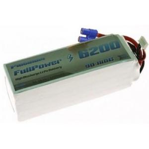 Batteria Lipo 6S 6200mAh 90C PLATINUM - EC5