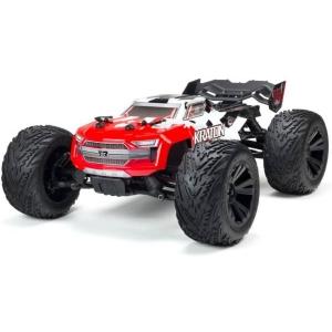 KRATON 1/10 4x4 4S BLX Brushless Monster Truck Spektrum RTR, Red