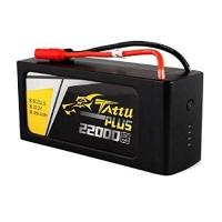 Tattu Plus 22000mAh 22.2V 25C 6S1P Lipo Battery Pack with AS150+