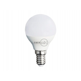 LAMPADINA LED ENERLUX E14 7W 2800&#176,K LUCE CALDA LUMEN 638