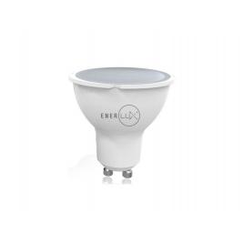 LAMPADINA LED ENERLUX GU10 7W 4000K LUCE NEUTRA FARETTO LUMEN 55