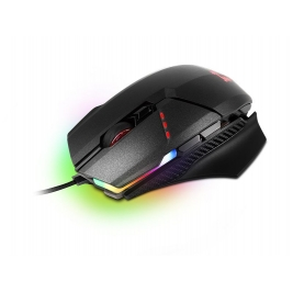 MOUSE GAMING CLUTCH GM60 BLACK USB CON FILO 10800DPI 8 TASTI RGB