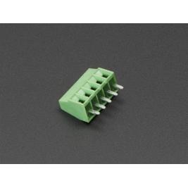 2.54mm/0.1 Pitch Terminal Block - 5-pin