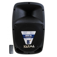 "SPEAKER KARMA RDM8A 8"" 120W AMPLIFI CATO FM/USB/BLUETOOTH/TELECO"