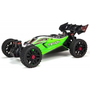 TYPHON MEGA 550 Brushed 4WD 1/8 Speed Buggy RTR, Green