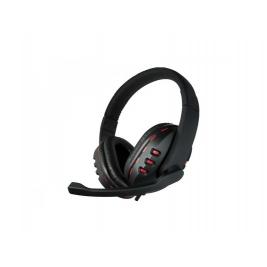 CUFFIA C/MICROFONO USB GAMING BK/RD RED STAR COMPATIBILE CON PS4