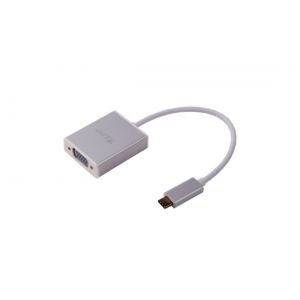 ADATTATORE USB-C TO VGA SILVER LMP TYPE C