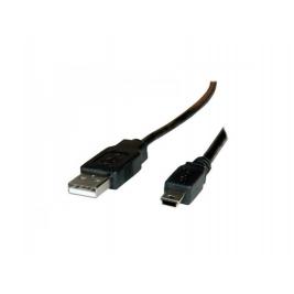 CAVO USB 2.0 A-5PIN MINI 1,8MT BK ADJ