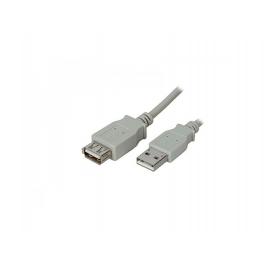 CAVO USB 2.0 A-A 1.8MT M/F PROLUNGA BG ADJ