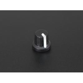 Potentiometer Knob - Soft Touch T18 - White