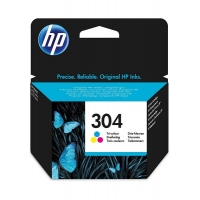 INK HP N9K05AEBL N.304 COLORE 2ML 100 PAG