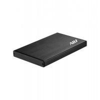 """BOX 2.5"""" SATA TO USB 3.0 MAX 2TB BK AH612 BOX MAX HDD 9,5 MM ADJ"""