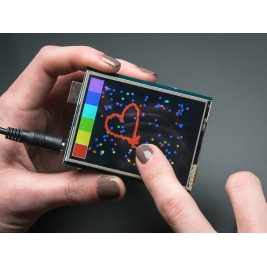 2.8 TFT Touch Shield for Arduino with Resistive Touch Screen