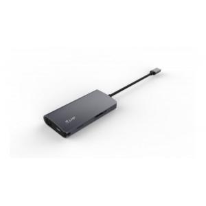 MINIDOCK LMP USB-C 8PORTE SPACEGRAY HDMI-RJ45-SD-MICRO SD-3 USB-