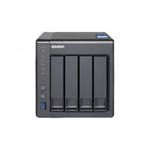 NAS QNAP 4BAY 2,5-3,5SATA AL-212  2 GB DDR3 1*10GBE