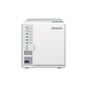NAS QNAP 3BAY SSD/HDD SATA 6GB/S 2P LAN ETHERNET 10GIGABIT TOWER