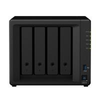 NAS SYNOLOGY DS418 X 4HD SATA2 QUAD-CORE 1,4 GHZ 2P LAN RAM 2GB