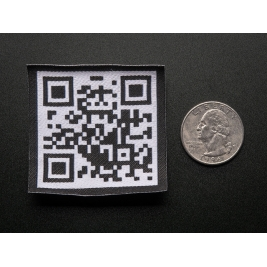 QR Code - Skill badge, iron-on patch