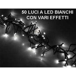 Luci a LED bianchi con vari effetti