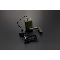 Portable Hand Crank Power Generator with Voltage Regulator