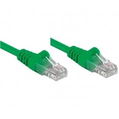 Cavo di rete Patch CCA Cat. 5e Verde UTP 10 mt
