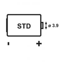 Batteria C (ER26500) - 3,6 V 7200mA litio cloruro di tionile