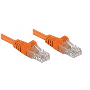 Cavo di rete Patch CCA Cat. 5e Arancio UTP 1 mt