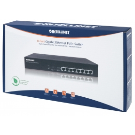 Switch 8 porte Gigabit PoE+