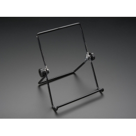 Adjustable Bent-Wire Stand for 8-10 Tablets and Displays