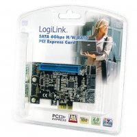 Scheda PCI Express SATA 6Gbps 2xSATA 1xATA