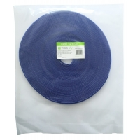 Rotolo di Velcro Fermacavi Lunghezza 25 m Larghezza 10 mm Blu