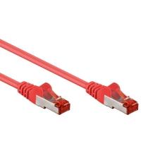 Cavo di rete Patch in CCA Schermato Cat. 6 Rosso F/UTP 3 m Bulk