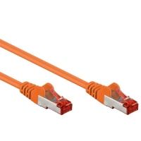 Cavo di rete Patch in CCA Schermato Cat. 6 Arancio F/UTP 1 m Bul
