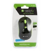 Mouse Ottico USB 800-1600 dpi Nero/Verde