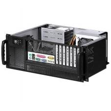 Chassis Industriale Rack 19  /Desktop 4U Ultra Compatto Nero