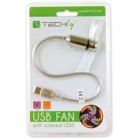 Ventola USB 2.0 con 5 LED Colorati
