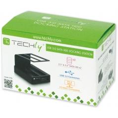 Docking Station USB 3.0 Doppio Slot per HDD SATA 2.5  /3.5