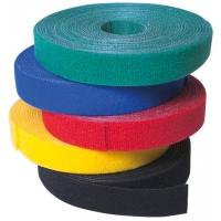 Rotolo di Velcro Fermacavi Lunghezza 4m Larghezza 16mm Giallo