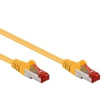 Cavo di rete Patch in CCA Schermato Cat. 6 Giallo F/UTP 5m Bulk