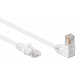 Cavo di rete Patch Connettore Angolato 90° CCA Cat. 5e UTP 0